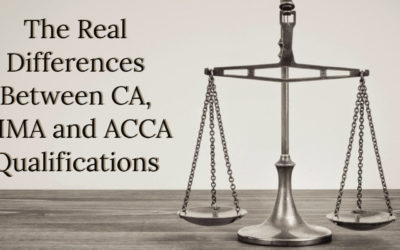 The Real Differences Between CA, CIMA and ACCA Qualifications