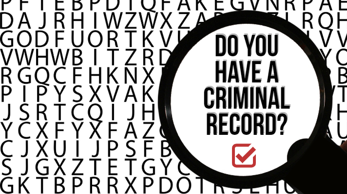Do you have a criminal record?