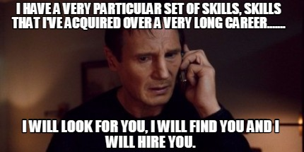 Recruiter will find you and hire you