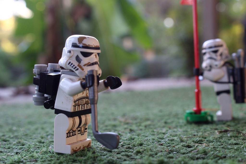 golf stars wars lego