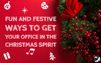 Fun and Festive Ways To Get Your Office In The Christmas Spirit