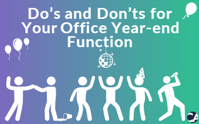 Do's and Don'ts for Your Office Year-end Function