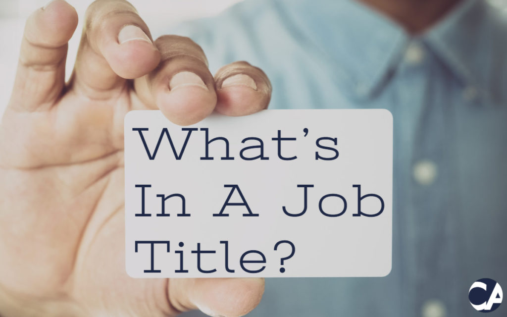 Financial Manager - What's In A Job Title?