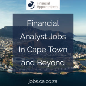 Financial Analyst Jobs In Cape Town