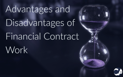 Advantages and Disadvantages of Financial Contract Work
